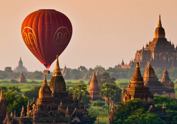 Bagan Burma balloon flight