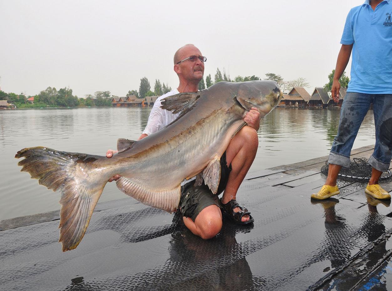 Fishing in Bangkok, Thailand