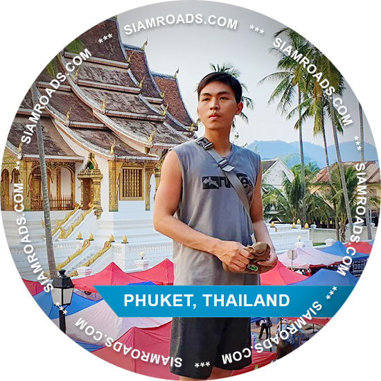 Tie gay companion and tour guide on Phuket island