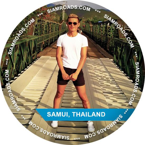 gay guide and companion on Samui